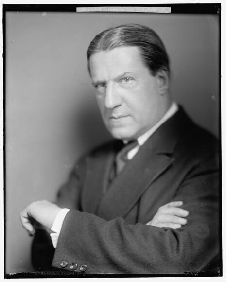 Rabbi Stephen Wise, from the Clarence Darrow collection