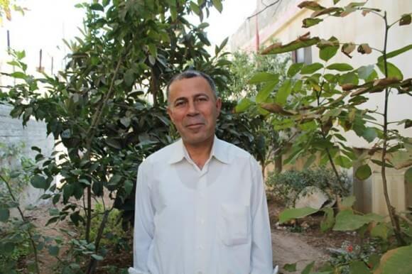 A photo of AbdulRazeq Farraj taken days before his current arrest.