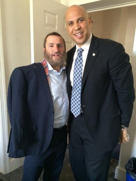 Boteach and Booker