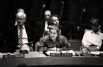 Madeleine Albright, from Samantha Power's twitter feed
