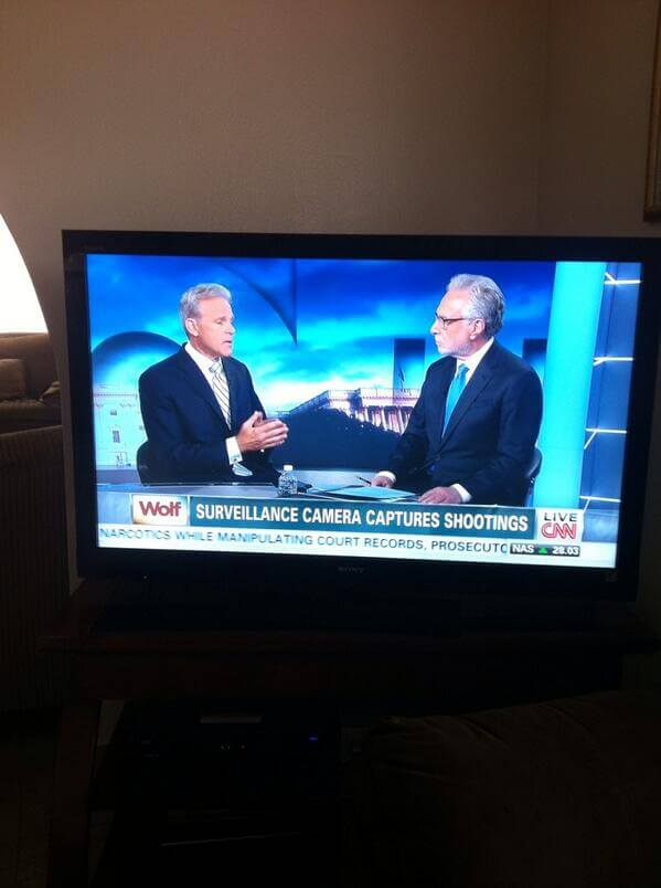 Michael Oren on Wolf Blitzer's CNN show yesterday, from Gus's twitter feed