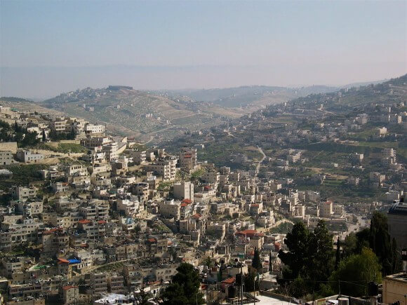Silwan (Photo via Architects and Planners for Justice in Palestine)