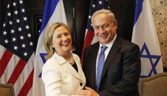 AP photo of Clinton and Netanyahu, 2010