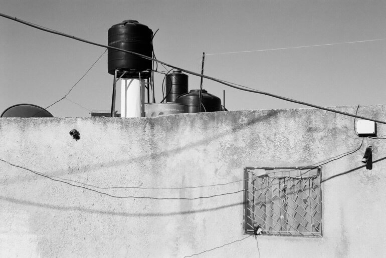 Water tanks for Palestinian homes