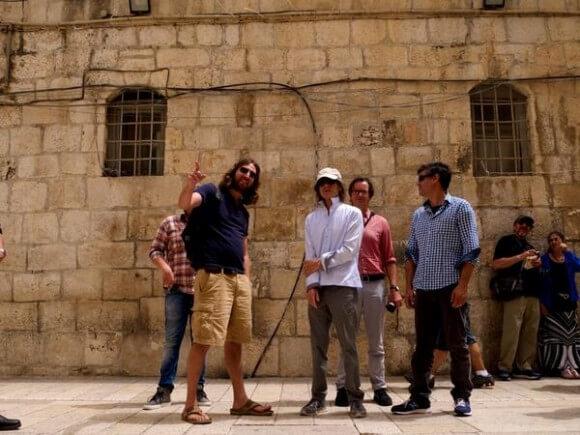 Jagger in Israel