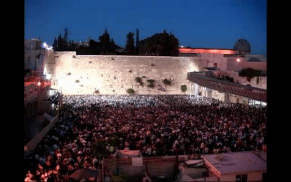 Western Wall prayers for missing Israeli teens
