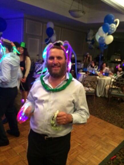 Boteach, at his nephew's bar mitzvah