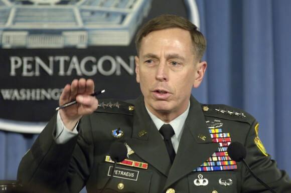David Petraeus in 2007, from Wikipedia