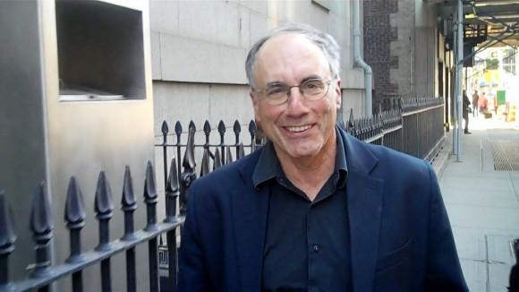 John Judis, in lower Manhattan, June 1, 2014