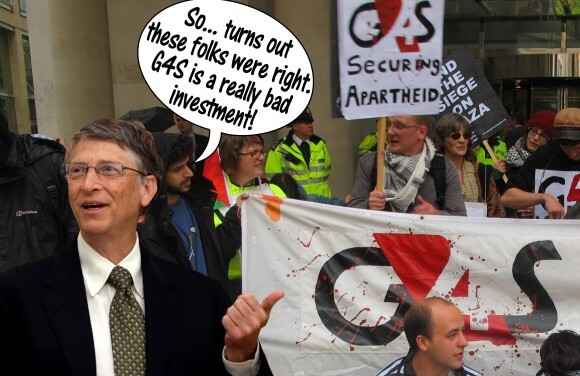 So..turns out these folks were right. G4S is a really bad investment (Graphic: Stephanie Westbrook)