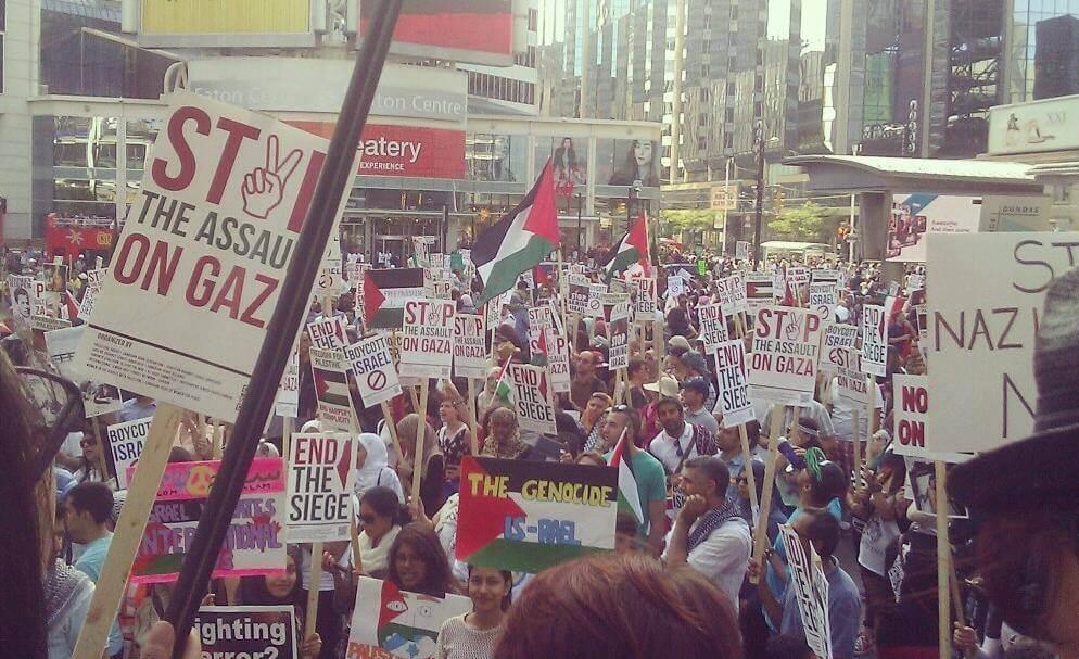 Toronto  #DayofRage  (photo: Aneesah Nawal)