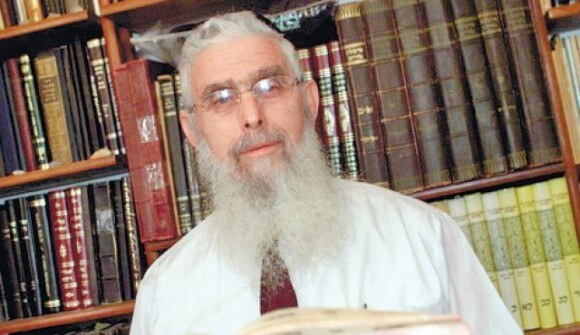 Rabbi Yaakov Ariel (Photo: Nir Kafri via Haaretz)