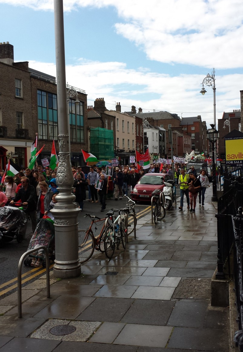 Dublin, Day of Rage (photo: Larry White)