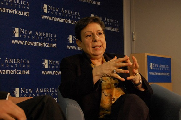 PLO official Dr. Hanan Ashrawi. (Photo: New America Foundation/Flickr)