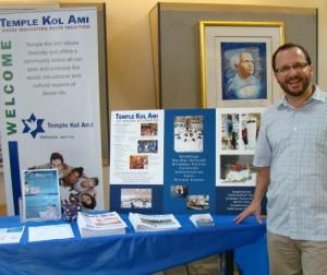 Rabbi Jeremy Schneider of Temple Kol Ami.