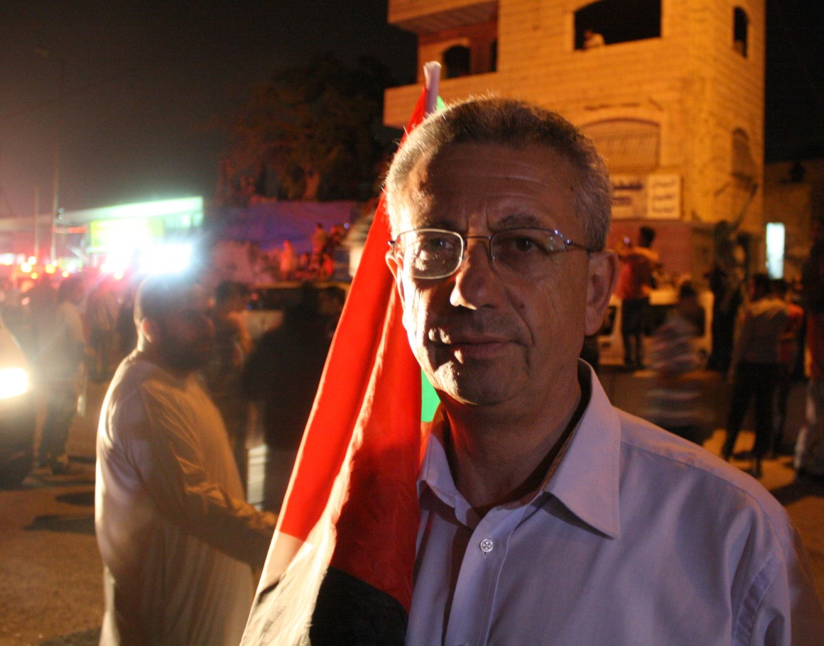 Palestinian politician, civil rights activist and party leader of Al-Mubadara Dr. Mustafa Barghouti. (Photo: Martin Gajsek)