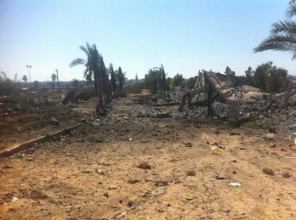Beit Hanoun zoo, obliterated