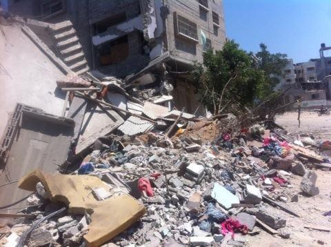 Shuja'iyeh rubble