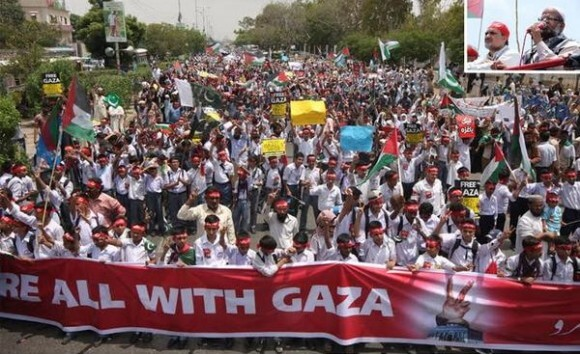 Karachi ,Pakistan (photo: Jamaat-e-Islami @JIPOfficial)
