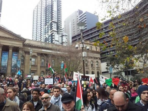 Melbourne #DayofRage (photo source: Kim Bullimore)