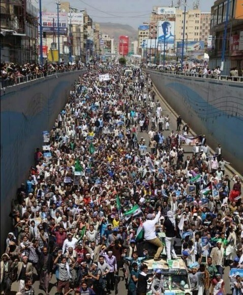 Yemen #DayofRage (photo source: Abbas Hamideh)