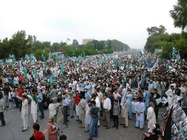 Islamabad, Pakistan #DayofRage (photo source: dr.meraj siddiqui)