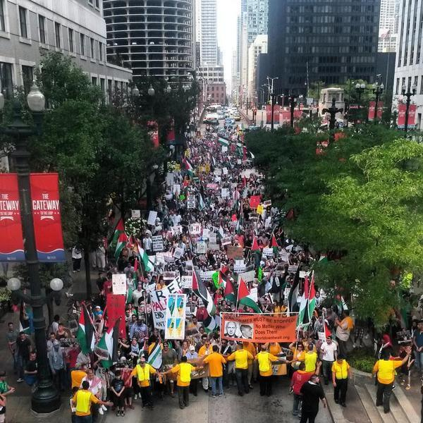 Chicago #DayofRage (photo: @soit_goes)
