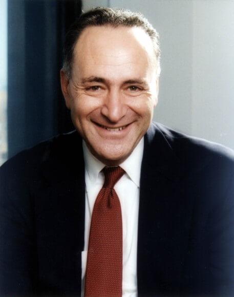 Schumer, official portrait