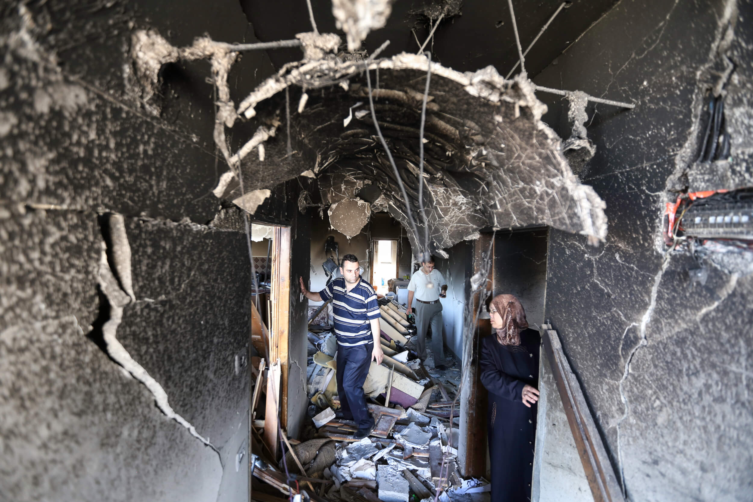 In photos: Israeli soliders destroy kidnapping suspects' family