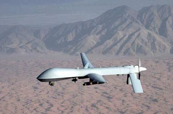 A U.S. Predator drone. (Photo: U.S. Air Force/Lt Col Leslie Pratt)