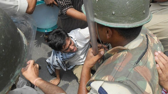 New Delhi demo