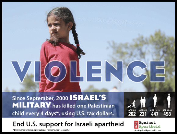 """Ads Against Apartheid """"One Word"""" campaign"""