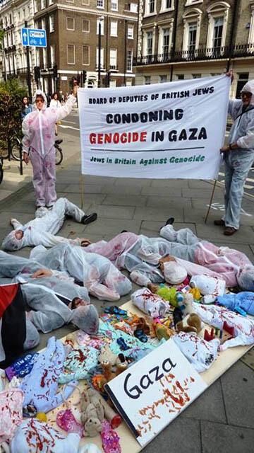 London (photo: JewsinBritainAgainstGenocide)