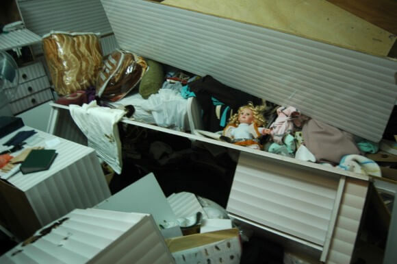 Child's bedroom in wanted man Marwarn Qawasmeh's house, Hebron. (Photo: Allison Deger)