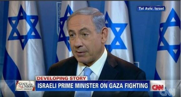Benjamin Netanyahu on CNN.