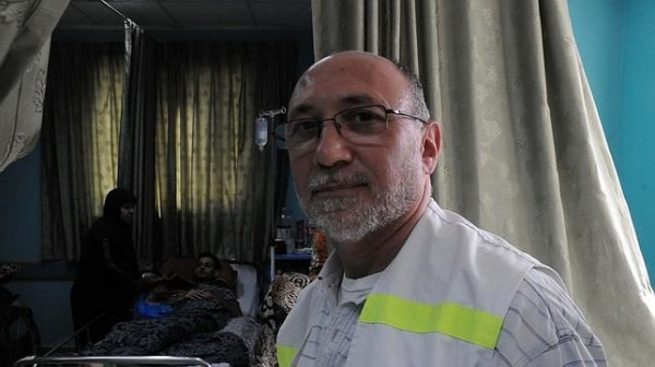 El-Wafa hospital director Basman Alashi. (Photo: ABC)