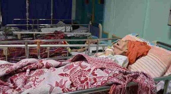 Patients in el-Wafa Rehabilitation Hospital in Gaza City. (Photo: Rina Andolini)