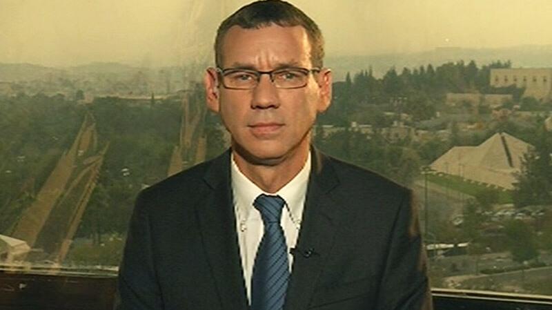 Mark Regev on CTV news in Canada