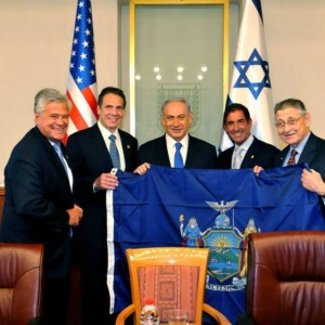 Cuomo and other NY political leaders meet Netanyahu