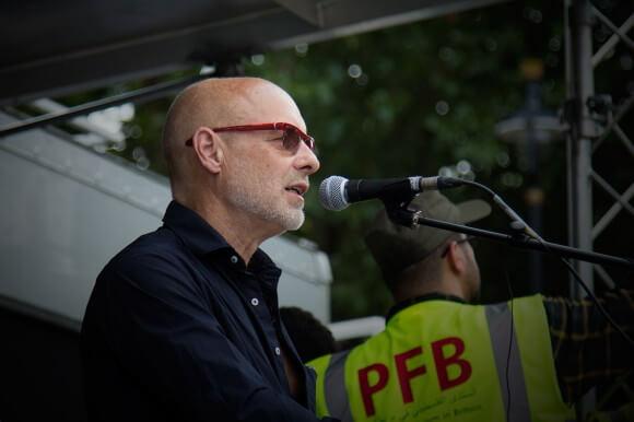 Brian Eno, by Ahmad Elabbar