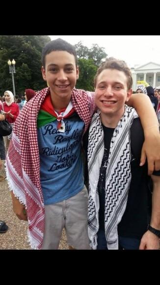Tariq Abu Khdeir and Lucas Koerner, two American victims of Israeli beatings