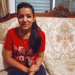 Dina Shehadah, 17, at her family home in al-Bireh near Ramallah. (Photo: Allison Deger)