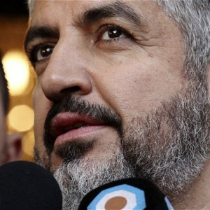 Hamas leader Khaled Meshaal (Photo: AP)