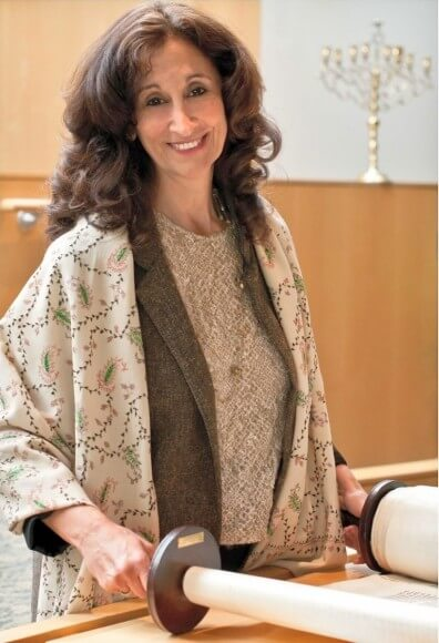 Rabbi Susan Talve. Named one of America's most inspiring rabbis by the Forward in 2014. (Photo: Central Reform Congregation)