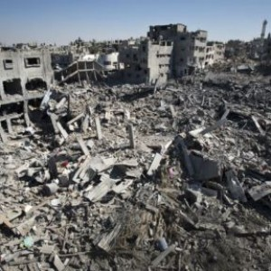 Shuja'iyah, destroyed in Israel's onslaught