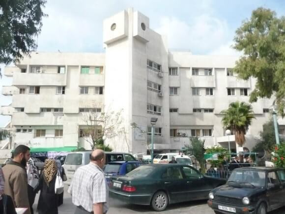 al-Shifa Hospital in Gaza City (Photo: loralucero.wordpress.com)