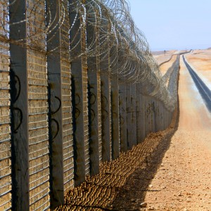 The Israeli-Egyptian border (Photo: Idobi /Creative Commons/ Wikimedia)