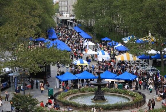 The Brooklyn Book Festival has quickly become one of the nation's top events of its kind since starting in 2006, September 18, 2011. (Photo: AP/Newsday )
