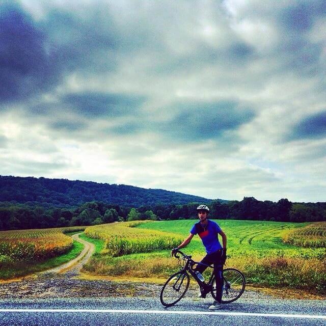 Ahmed Abunammous (Photo: Cycling4Gaza)