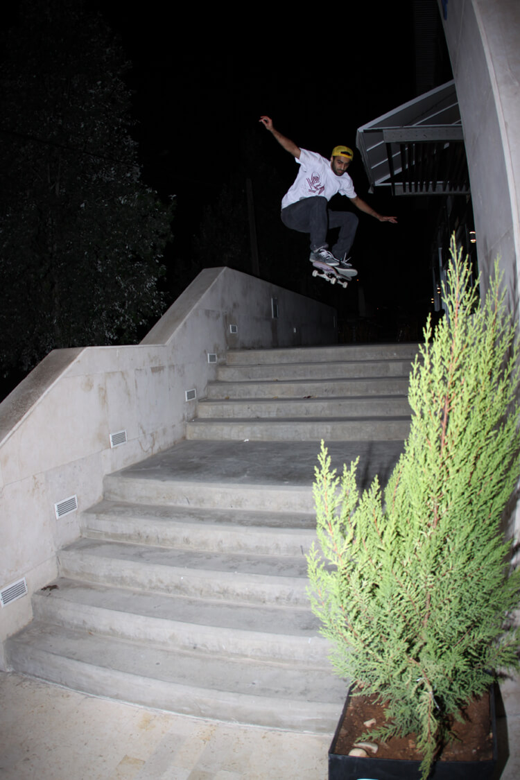 Saif Al-Qaisi Amman, Jordan (photo: Philadelphia Skateboards)